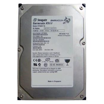 ST320011A Seagate 20GB 7200RPM ATA 100 3.5 2MB Cache Barracuda Hard Drive