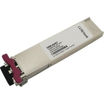 DEM-424XT D-Link 10Gbps 10GBase-ZR Single-mode Fiber 80km 1550nm Duplex LC Connector XFP Transceiver Module