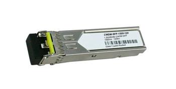 CWDM-SFP-1550-120 Cisco 1Gbps 1000Base-CWDM Fibre Channel Single-mode Fiber 120km 1550nm Duplex LC Connector SFP Transceiver Module