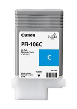 PFI106PC Canon PFI106 130ML Photo Cyan Ink Cartridge
