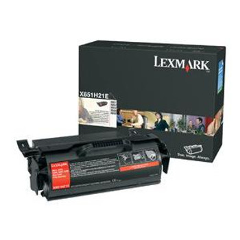 X651H21A-A1 Lexmark 25000 Pages Black Laser Toner Cartridge for X651 X652 X654 X656 Laser Printer