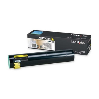 X945X2YG-A1 Lexmark 22000 Pages Yellow Laser Toner Cartridge for X940 Laser Printer