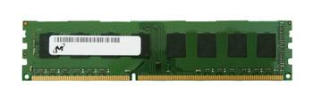 8GBDDR312800-MIC Micron 8GB DDR3 Non ECC PC3-12800 1600Mhz 2Rx8 Memory