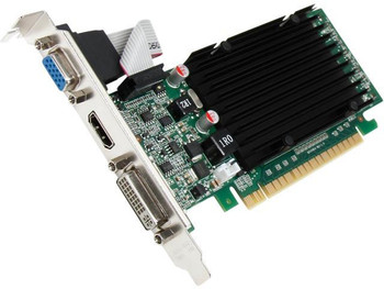 P672 Nvidia GeForce 8400 GS 512MB DDR3 32-bit HDCP Ready PCI Express 2.0 x16 Low Profile Video Graphics Card