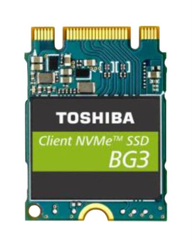 KBG30ZMS512G Toshiba BG3 Series 512GB TLC PCI Express 3.0 x2 NVMe M.2 2230 Internal Solid State Drive (SSD)