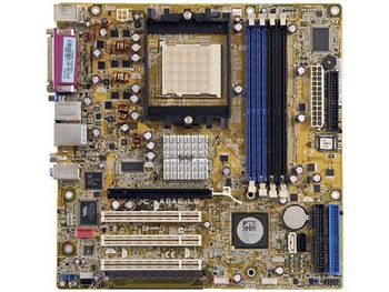 A8AE-LE ASUS Socket 939 AMD RS482 + SB400 Processors Support DDR 4x DIMM 2x SATA ATX Motherboard (Refurbished)