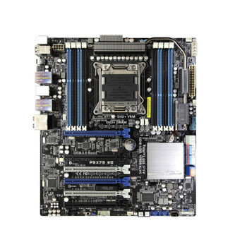 P9X79 WS ASUS Intel X79 Chipset 2nd Generation Core i7/ Xeon E5-1600/ E5-2600 Series Processors Support Socket 2011 Workstation Motherboard (Refurbished)