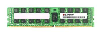 KTH-PL424D8/16G Kingston 16GB PC4-19200 DDR4-2400MHz ECC Registered CL17 288-Pin DIMM 1.2V Dual Rank Memory Module