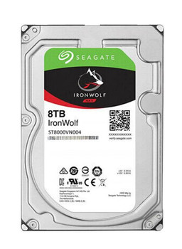ST8000VN004 Seagate IronWolf 8TB 7200RPM SATA 6Gbps 256MB Cache (512e) 3.5-inch Internal Hard Drive