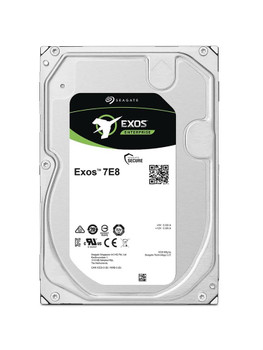 ST6000NM034A Seagate Exos 7E8 6TB 7200RPM SAS 12Gbps 256MB Cache (SED-FIPS 140-2 / 4Kn) 3.5-inch Internal Hard Drive