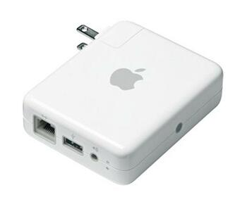 MB321LL/A Apple Airport Express Base Station with 802.11n and AirTunes (Refurbished)