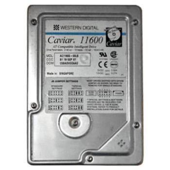 AC11600 Western Digital 1GB 5200RPM ATA 33 3.5 128KB Cache Caviar Hard Drive