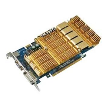 GV-NX86S256H Gigabyte Nvidia GeForce 8600 GTS 256MB GDDR3 128-Bit Dual DVI / HDTV-Out PCI-Express x16 Video Graphics Card