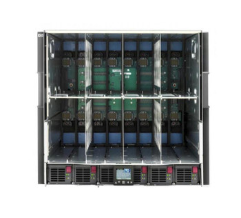 507015-B21 HP BLc7000 Single-Phase Enclosure with 6 Power Supplies and 10 Fans RoHS ICE Rack-Mountable