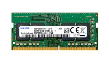 Samsung 8GB PC4-25600 DDR4-3200MHz non-ECC Unbuffered CL22 260-Pin SoDimm 1.2V Single Rank Memory Module Mfr P/N M471A1G44AB0-CWE