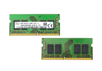Hynix 8GB PC4-19200 DDR4-2400MHz non-ECC Unbuffered CL17 260-Pin SoDimm 1.2V Single Rank Memory Module Mfr P/N HMA81GS6MFR8N-UHN0-AC