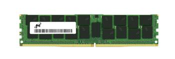 Micron 32GB PC4-21300 DDR4-2666MHz Registered ECC CL19 288-Pin DIMM 1.2V Dual Rank Memory Module Mfr P/N MTA36ASF4G72PZ-2G6E1RI