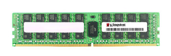 Kingston 32GB PC4-19200 DDR4-2400MHz Registered ECC CL17 288-Pin DIMM 1.2V Dual Rank Memory Module (Hynix D IDT) Mfr P/N KSM24RD4/32HDI-BK
