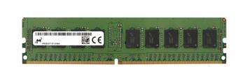 Micron 8GB PC4-21300 DDR4-2666MHz Registered ECC CL19 288-Pin DIMM 1.2V Single Rank Memory Module Mfr P/N MTA9ASF1G72PZ-2G6J1SI