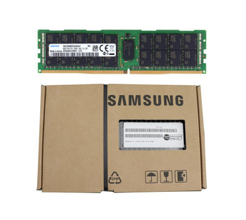 Samsung 64GB PC4-21300 DDR4-2666MHz Registered ECC CL19 288-Pin DIMM 1.2V Quad Rank Memory Module Mfr P/N M393A8G40MB2-CTD-/110pcLot