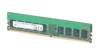Micron 8GB PC4-19200 DDR4-2400MHz ECC Unbuffered CL17 288-Pin DIMM 1.2V Single Rank Memory Module Mfr P/N MTA9ASF1G72AZ-2G3B1ZI