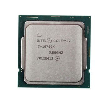 Intel Core i7-10700K 8-Core 3.80GHz 8.00GT/s 16MB L3 Cache Socket FCLGA1200 Desktop Processor Mfr P/N CM8070104282436S