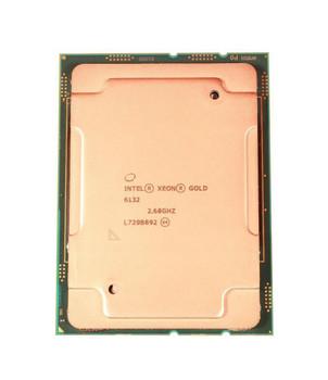 Dell 2.60GHz 10.40GT/s UPI 19.25MB L3 Cache Intel Xeon Gold 6132 14-Core Processor Upgrade Mfr P/N 0PYJN7