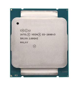 Dell 2.60GHz 9.60GT/s QPI 30MB L3 Cache Intel Xeon E5-2690 v3 12 Core Processor Upgrade Mfr P/N 122D3