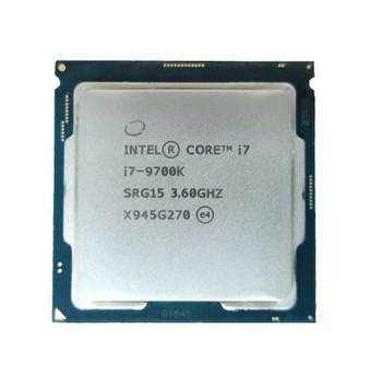 Intel Core i7-9700K 8-Core 3.60GHz 8.00GT/s DMI3 12MB L3 Cache Socket FCLGA1151 Desktop Processor Mfr P/N SRG15