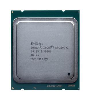 IBM 3.30GHz 8.00GT/s QPI 25MB L3 Cache Socket FCLGA2011 Intel Xeon E5-2667 v2 8 Core Processor Upgrade Mfr P/N 46W4354