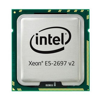 IBM 2.70GHz 8.00GT/s QPI 30MB L3 Cache Intel Xeon E5-2697 v2 12-Core Processor Upgrade Mfr P/N 46W2816