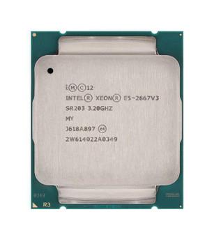 Dell 3.20GHz 9.60GT/s QPI 20MB L3 Cache Socket FCLGA2011-3 Intel Xeon E5-2667 v3 8 Core Processor Upgrade Mfr P/N 0HT27F