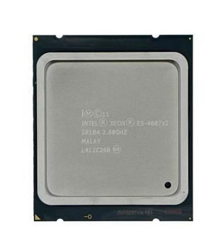IBM 2.60GHz 6.40GT/s QPI 15MB L3 Cache Socket LGA2011 Intel Xeon E5-4607 v2 6 Core Processor Upgrade Mfr P/N 00D1954