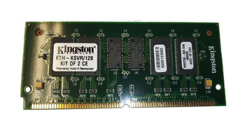 Kingston 128MB Kit (2 X 64MB) FastPage ECC Buffered 60ns 144-Pin Proprietary DIMM Memory Mfr P/N 9902230-003.A00