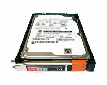 EMC 1.2TB 10000RPM SAS 6Gbps 2.5-inch Internal Hard Drive Mfr P/N VMAX-2S10-012