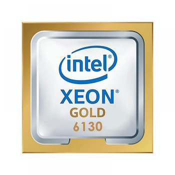 HP 2.10GHz 10.40GT/s UPI 22MB L3 Cache Socket LGA3647 Intel Xeon Gold 6130 16-Core Processor Upgrade Mfr P/N 2DL34AV