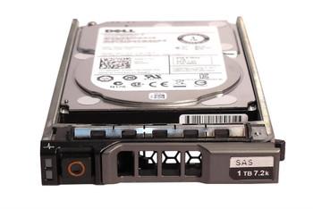 Dell 2TB 7200RPM SAS 12Gbps (SED) 2.5-inch Internal Hard Drive Mfr P/N 400-AIEB