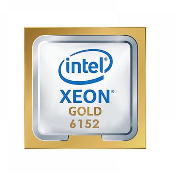 HP 2.10GHz 10.40GT/s UPI 30.25MB L3 Cache Socket LGA3647 Intel Xeon Gold 6152 22-Core Processor Upgrade Mfr P/N 2DL48AV