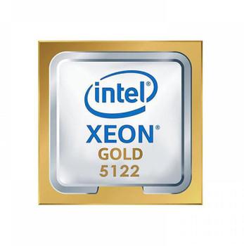 HP 3.60GHz 10.40GT/s UPI 16.5MB L3 Cache Socket LGA3647 Intel Xeon Gold 5122 Quad-Core Processor Upgrade Mfr P/N 2DL30AV