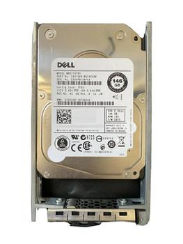 Dell 146GB 15000RPM SAS 6Gbps 2.5-inch Internal Hard Drive Mfr P/N 9FU66-150