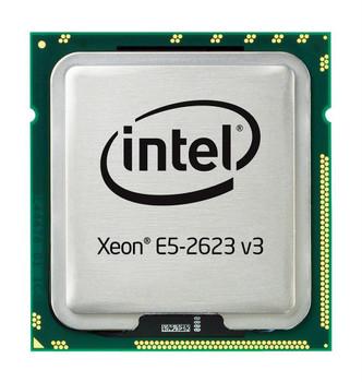 Fujitsu 3.00GHz 8.00GT/s QPI 10MB L3 Cache Socket LGA2011-3 Intel Xeon E5-2623 v3 Quad Core Processor Upgrade Mfr P/N V26808-B9149-V10