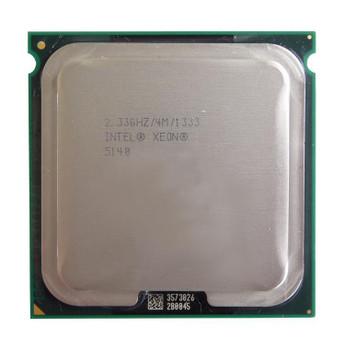 HP 2.33GHz 1333MHz FSB 4MB L2 Cache Socket LGA771 Intel Xeon 5140 Dual-Core Processor Upgrade Mfr P/N 416797-002