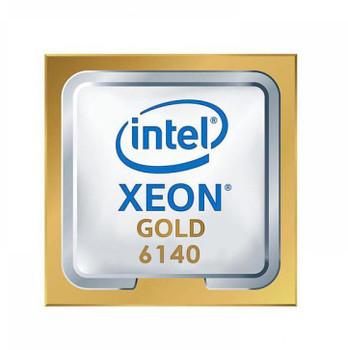 HP 2.30GHz 10.40GT/s UPI 24.75MB L3 Cache Socket LGA3647 Intel Xeon Gold 6140 18-Core Processor Upgrade Mfr P/N 2DL42AV