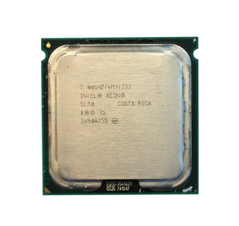 HP 2.00GHz 1333MHz FSB 4MB L2 Cache Intel Xeon 5130 Dual Core Processor Upgrade Mfr P/N 416796-002