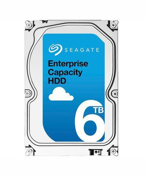 Seagate Enterprise 6TB 7200RPM SAS 12Gbps 128MB Cache (512e) 3.5-inch Internal Hard Drive Mfr P/N ST6000NM245