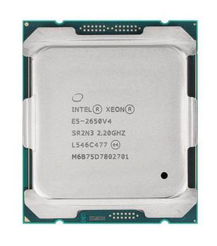 HP Intel Xeon E5-2650 v4 12 Core 2.20GHz 9.60GT/s QPI 30MB L3 Cache Socket FCLGA2011-3 Processor for Workstation Z640 Mfr P/N T9U18AA#UUZ
