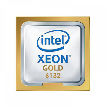 Intel Xeon Gold 6132 14-Core 2.60GHz 10.40GT/s UPI 19.25MB L3 Cache Socket LGA3647 Processor Mfr P/N L09264-001