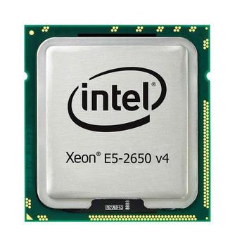 HP Intel Xeon E5-2650 v4 12 Core 2.20GHz 9.60GT/s QPI 30MB L3 Cache Socket FCLGA2011-3 Processor Mfr P/N 826684R-B21