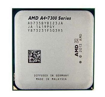 AMD A4 PRO-7350B 3.40GHz 1MB L2 Cache Socket FM2+ Processor Mfr P/N AMDSLA4P7350B