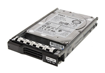 Dell 1.8TB 10000RPM SAS 12Gbps (512e) 2.5-inch Internal Hard Drive Mfr P/N 400-BBET